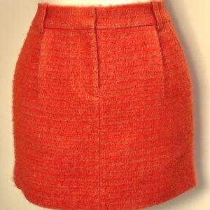 Atomic Tweed Mini in Neon Orange & Beige Mohair